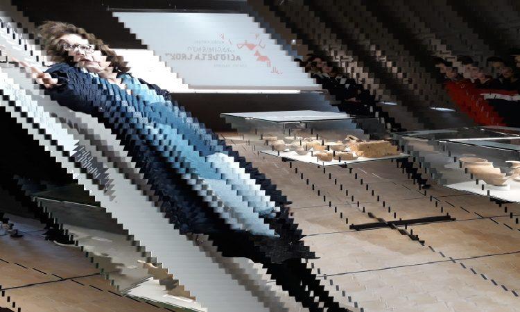 1º ESO visita la exposición permanente del Alto de la Cruz
